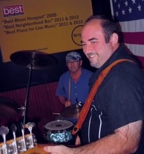 Narragansett Cafe 9/2013 Damian Purro - Bass Chuck Purro - Drums